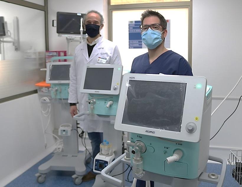 Hospital Regional cuenta con 6 Nuevos Ventiladores Mecánicos