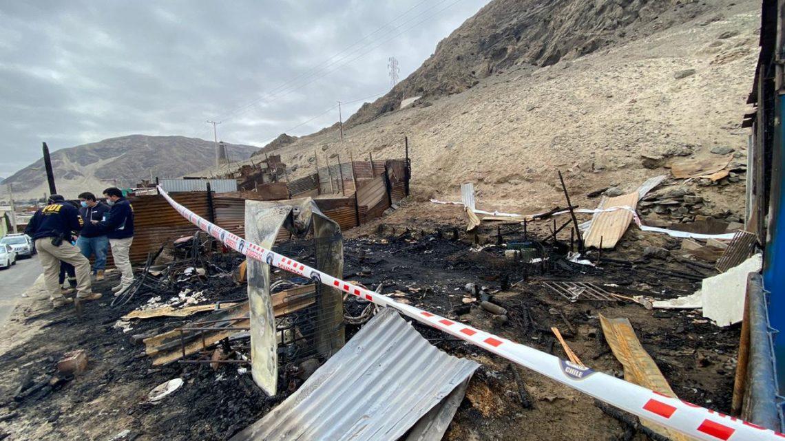 Fiscalía ordena diligencias investigativas para establecer causas de fatal incendio en Chañaral