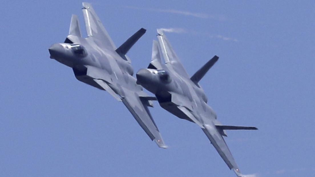 China duplica la presencia de aviones de combate en la disputada frontera con la India