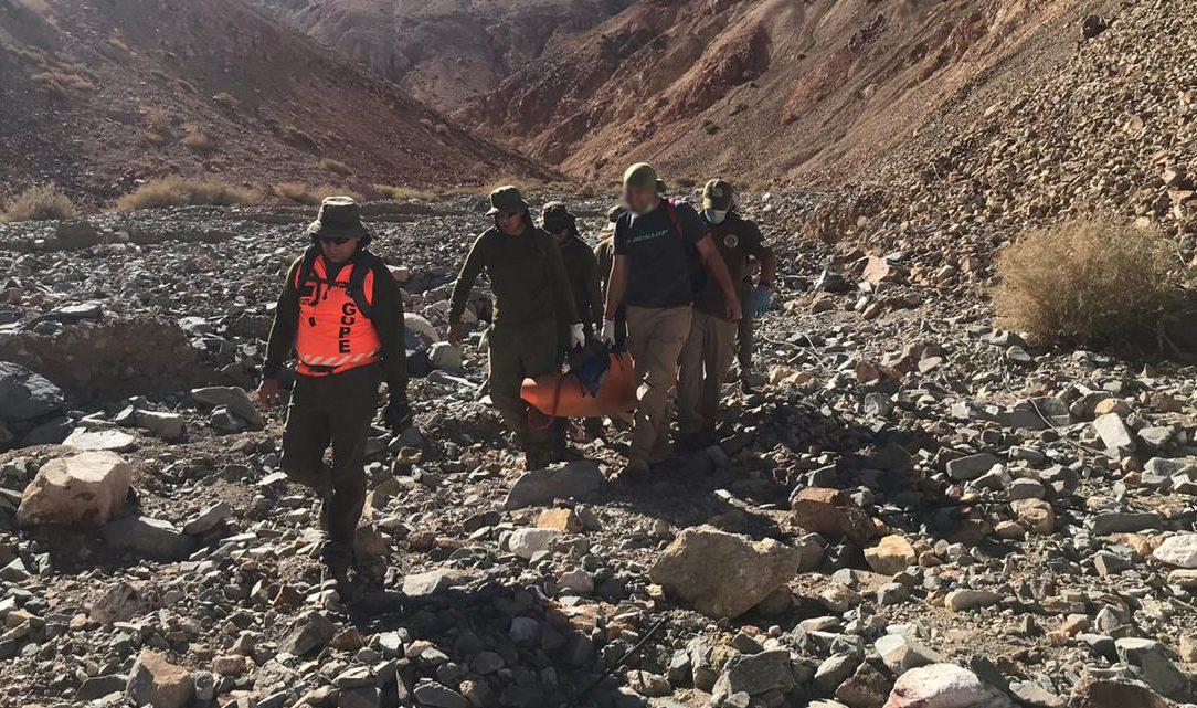Trabajo multidisciplinario permitió identificación de cuerpo encontrado en zona precordillerana