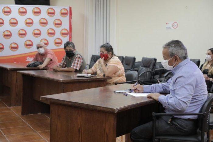 Municipio y feriantes de Copiapó refuerzan trabajo preventivo para funcionamiento de las ferias libres