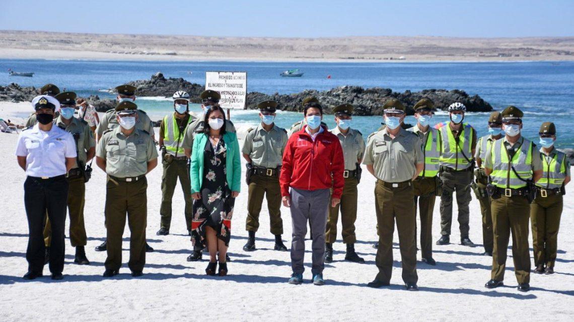 Gobierno junto a Carabineros dan inicio al Plan Verano Seguro en la Región de Atacama